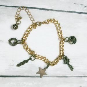 Magical Amulet Charm Bracelet